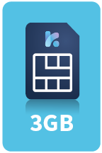 keysim 3gb sim card